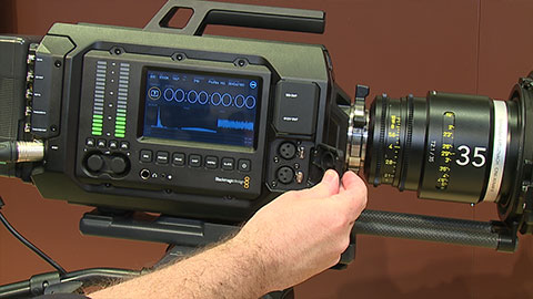 Blackmagic URSA at NAB 2014
