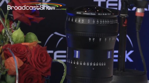 Carl Zeiss on BroadcastShow LIVE at IBC 2013