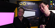 Cirrolite and Kino Flo at BVE 2017