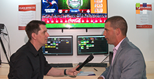Click Effects on the ChyronHego stand at IBC 2016