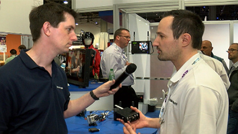 Cobham: Mini RF Transmitters at NAB 2013