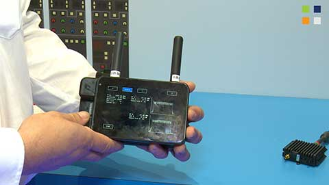 Cobham new receiver at IBC 2014
