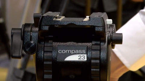 Miller Compass tripods at IBC 2015