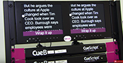 CueiT Software from CueScript at NAB 2018