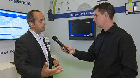Dejeros products at IBC 2014