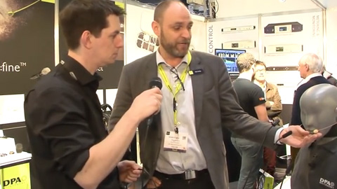 DPA Microphones and Bubblebee Industries at BVE 2014