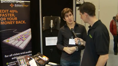 Editors Keys at ProVideo2011