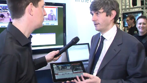 Forbidden Technologies FORscene App at BVE 2014