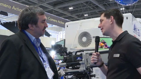 Gearhouse Broadcast at BVE 2015
