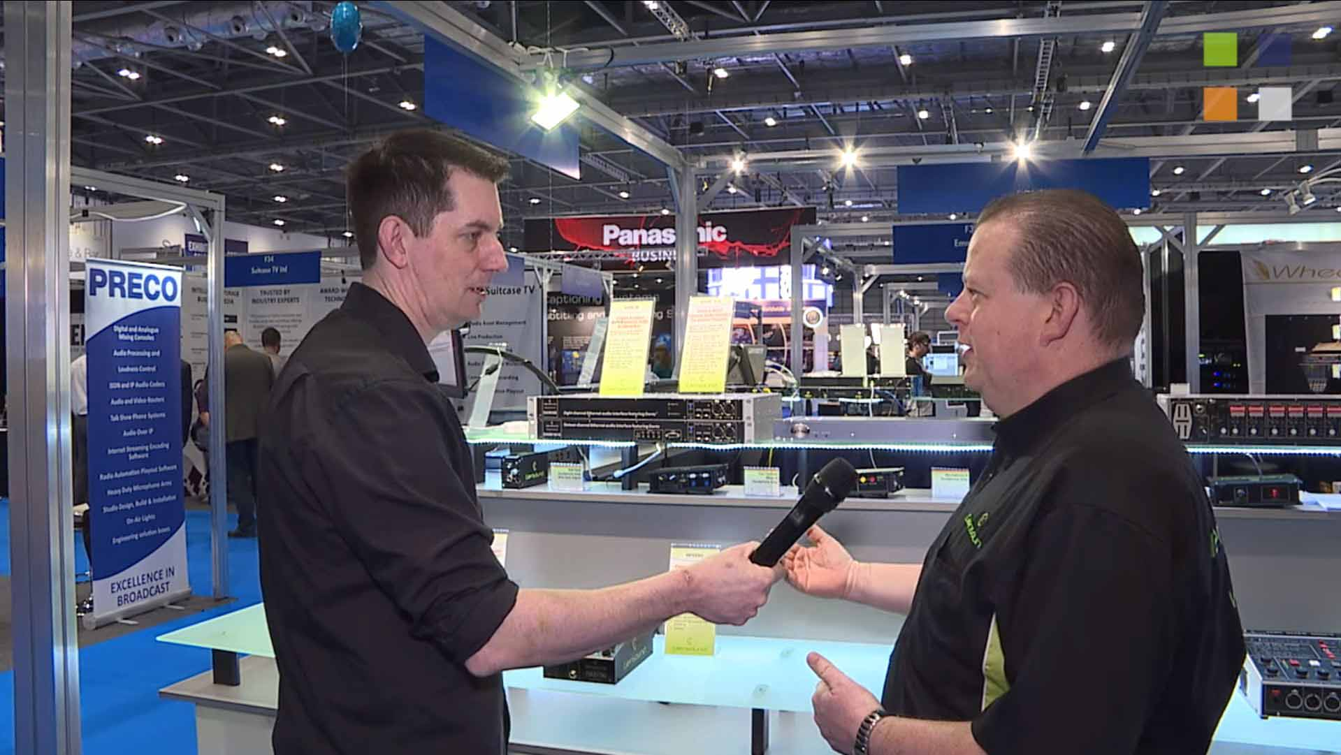 Glensound at BVE 2016