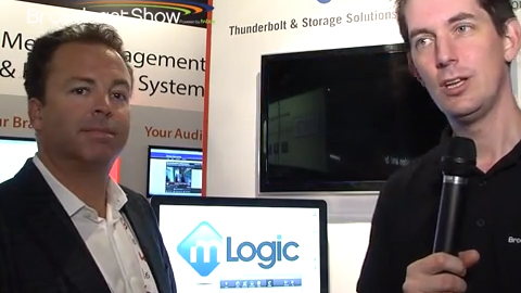 Global Distribution with mLogic at IBC 2013