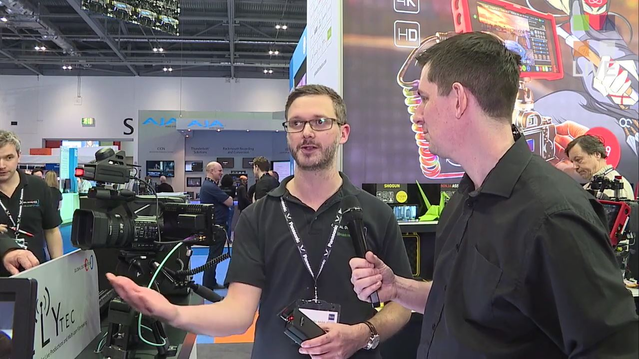 Guided tour of the Global Distribution Stand at BVE 2016