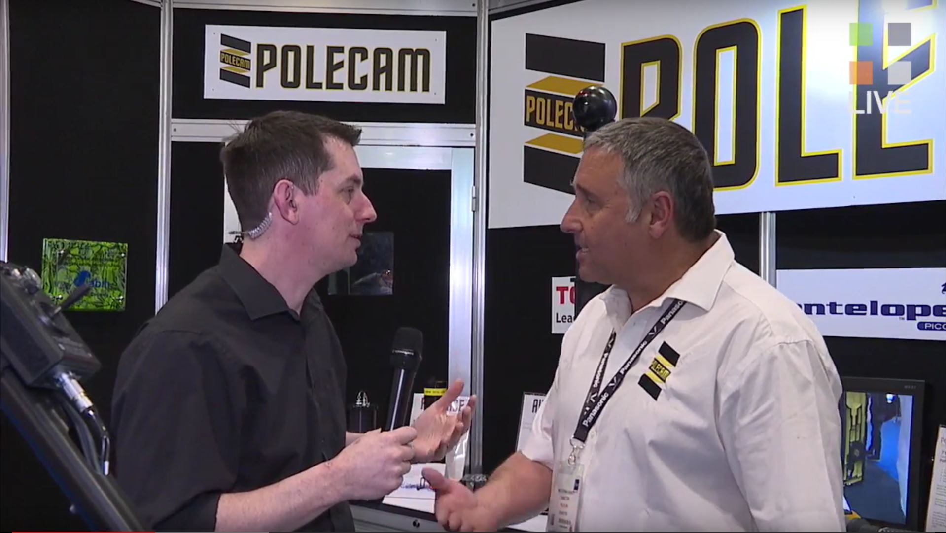 Guided Tour of the Polecam Stand at BVE 2016