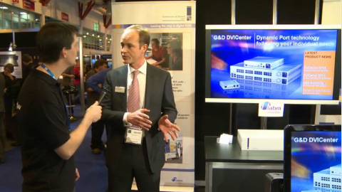 Guntermann and Drunck at BVE 2012