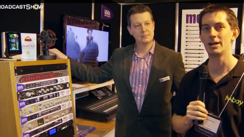 HHB and Soundfield at BVE North 2011