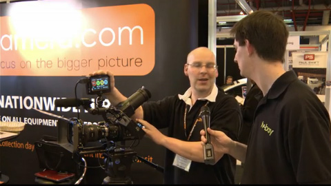 Hireacamera at BVE 2012