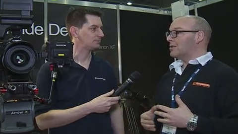 Hireacamera at BVE 2013