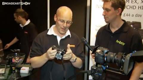 Hireacamera at ProVideo2011