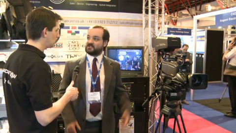 Hitachi and TNP at BVE 2012