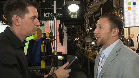 Hive Lighting Wasp Plasma Par at IBC 2014