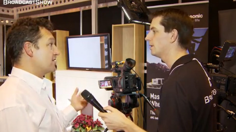 Holdan and Panasonic at BVE North 2011