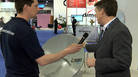 Inmarsat: Global Xpress and Explorer at NAB 2013