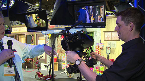 JVC concept products at NAB 2014