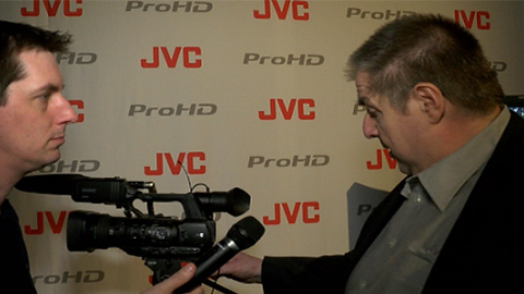 JVC GY-HM650 upgrade at NAB 2013