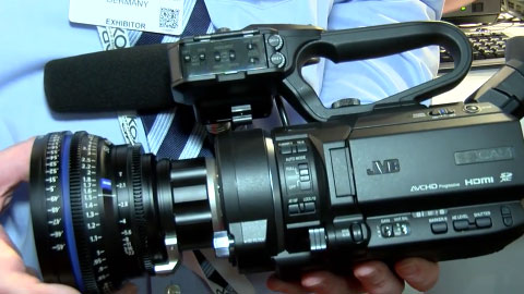 JVC GY-LS300 at IBC 2015