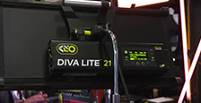 Kino Flo DIVA-LITE 21 shown by Cirrolite at BVE 2018