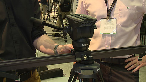 Libec ALLEX slider system at NAB 2014
