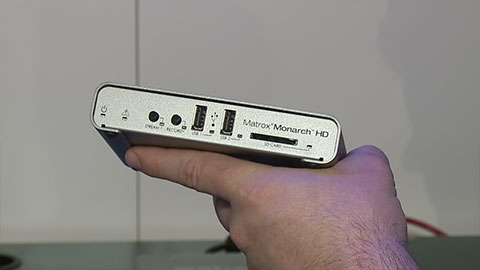 Matrox Monarch HD at NAB 2014
