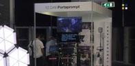 Could the new 1550 nit 32 inch Quasar from Portaprompt be the biggest prompter screen at IBC2019?