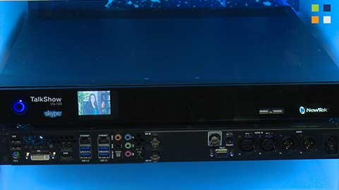 NewTek TalkShow at IBC 2014