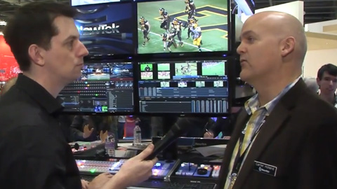 NewTek TriCaster at BVE 2014