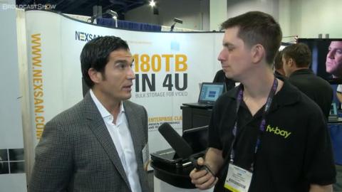 Nexsan at NAB 2012