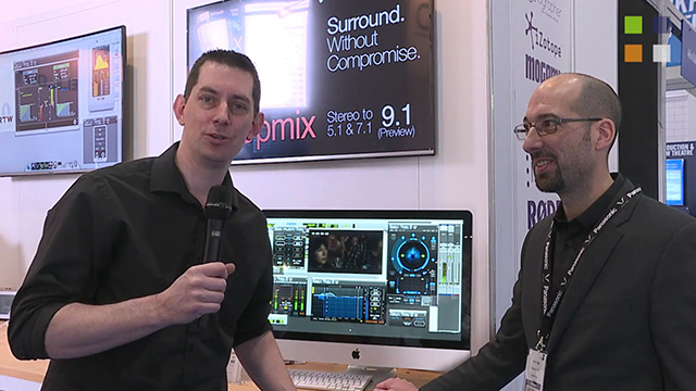 Nugen Audio Halo Upmix at BVE 2016