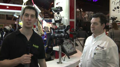 Panasonic at BVE 2012