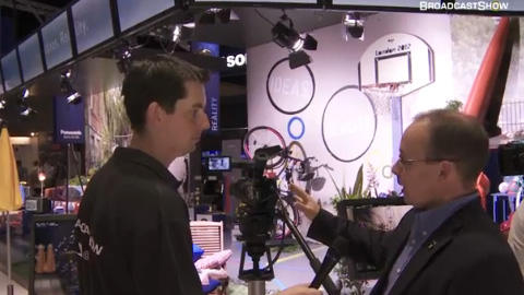 Panasonic at IBC2011
