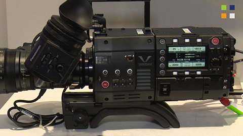 Panasonic show VariCam at IBC 2014