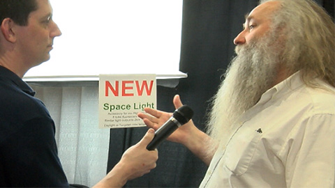 Photon Beard: Space Light at NAB 2013