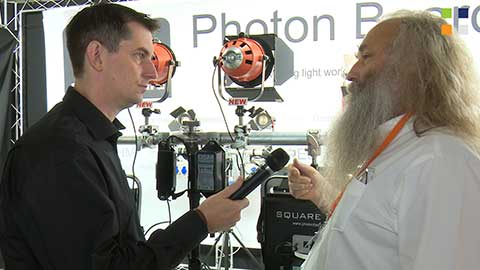 Photon Beard Photon Beam at IBC 2014