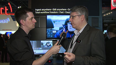 Quantel QTube at NAB 2014