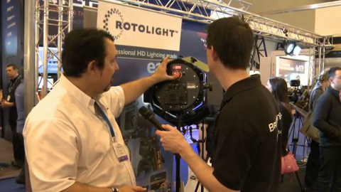 Rotolight and TNP at BVE 2012
