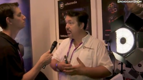 Rotolight at IBC2011
