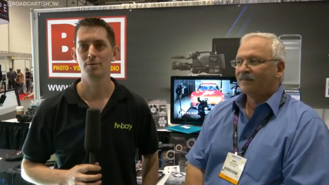 Rotolight at NAB 2012