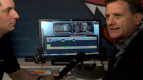 Scott Hill uses EditShare: Lightworks at NAB 2013