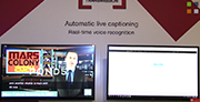 Screen Systems and automatic live subtitling at NAB 2018