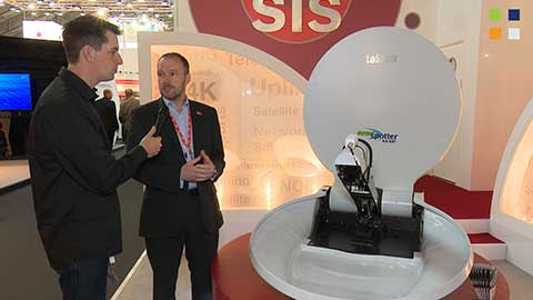 SIS LIVE ManPak and LoStow at IBC 2014