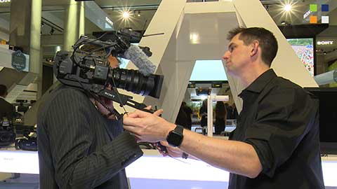 Sonys new cameras at IBC 2014 - including the FS7
